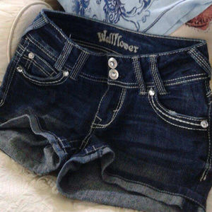Brand new Wallflower Studded sparkle shorts